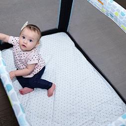 Pack N Play Mattress Pad Cover Protector - Fitted Baby Playa