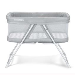MiClassic 2 In 1 Rocking Bassinet Foldable Travel Crib Porta