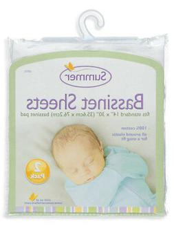 Summer Infant 2-Pack Bassinet Sheets