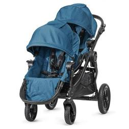 Baby Jogger City Select Black Frame Stroller w/ 2nd Seat, Te