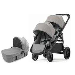 Baby Jogger 2017 City Select LUX Double Stroller WITH LUX Ba