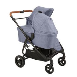 Valco 2018 Snap DUO Trend Stroller in Denim With Bassinet!!