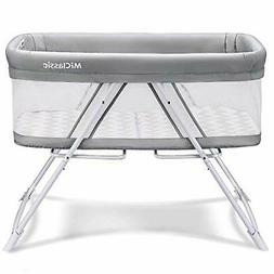 MiClassic 2in1 Stationary&Rock Bassinet One-Second Fold