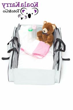 3-in-1 Baby Diaper Bag Portable Bassinet Changing Station Tr