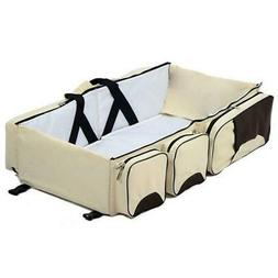 3 in 1 Diaper Bag, Bassinet, and Changing Station
