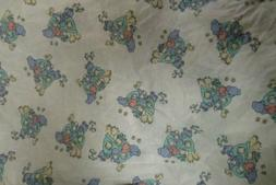 3 Spencers Wee Bear Fitted Baby Bassinet Sheets   Fits 16×3