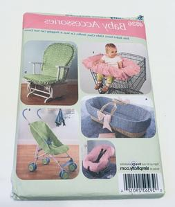 4636 Simplicity Baby Accessories Bassinet Liner Stroller Pad