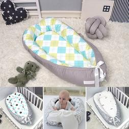 80*55cm Portable Bionic Bed Toddler Cotton Cradle <font><b>B