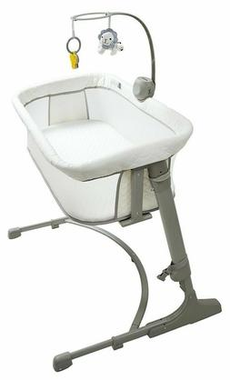 Arm's Reach Concepts The Versatile Co-Sleeper, White/Grey, O