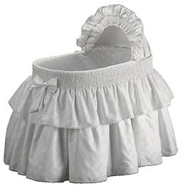 Baby Doll Bedding Neutral Paradise Bassinet Bedding Set for