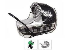 Baby Stroller and Bassinet Raincover - Weathershield for Str