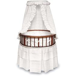 Badger Basket - Cherry Elegance Round Bassinet, W
