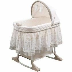 Delta Children Rocking Bassinet, Play Time Jungle