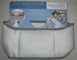 Halo Bassinest Swivel Sleeper Storage Caddy, White