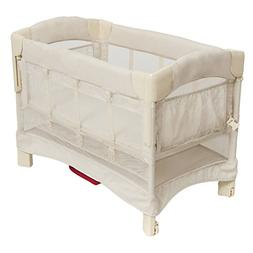 Arm's Reach Mini Euro Ezee 2 in 1 Solid Bassinet with Skirt