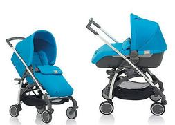 Inglesina Avio Stroller and Bassinet Travel System in Sky Li