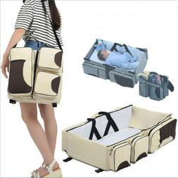 Baby 3 in 1 Portable Bassinet Cot Mummy Nappy Travel Diaper