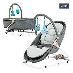 Baby Bassinet & Bouncer  Travel Bassinet, Rocker Bouncer