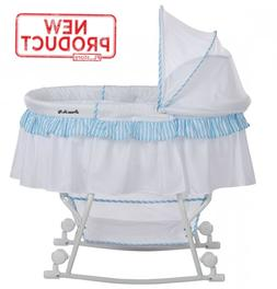 Baby Bassinet & Cradle Portable Infant Crib Bed Newborn Slee