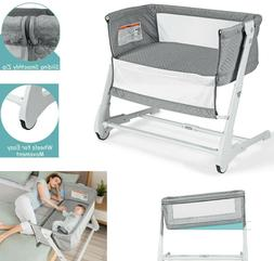 baby bassinet bedside newborn sleeper portable bed