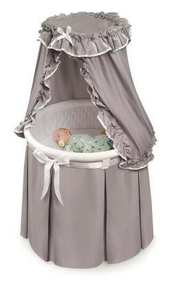 Baby Bassinet Crib Cradle Sleep Bed Basket Round Infant Newb
