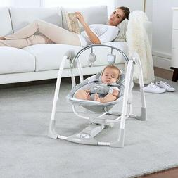 Baby Bassinet Seat Swing Crib Bed Sleeper Portable Nursery F
