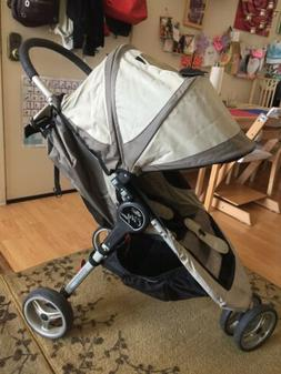 Baby  City Mini Black/Gray Jogger Single Seat Stroller With