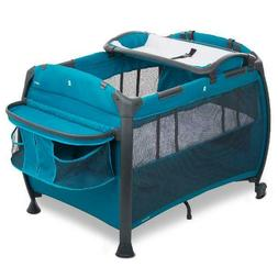Baby Crib Playpen Nursery Center Bassinet Changing Table Tra