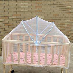 GZQ Baby Crib Tent Mosquito Guard Insect Net Infant Bed Safe