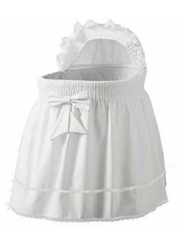 Baby Doll Bedding Neutral Sea Shell Bassinet Liner for boy a