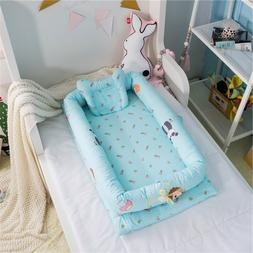 Baby Kids Infant CO Sleeping Crib Bed Portable Crib <font><b