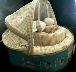 Luly Boo Baby Lounge to Go Baby Travel Bassinet Play Travel