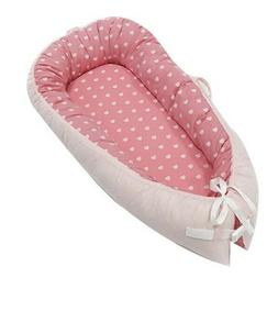 JHion Baby Lounger Portable Infant Bassinet Cocoon Snuggle B