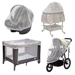 Baby Mosquito and Bug Nets for Strollers & Joggers, Pack n'