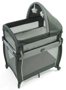 Graco Baby My View 4-in-1 Newborn to Toddler Crib Bassinet M