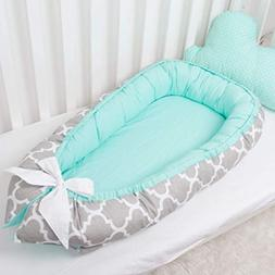 Baby nest bed or toddler size nest, portable crib, co sleepe