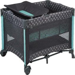 Baby Safety Play Yard Pen with Bassinet Baby Play Crib PlayP