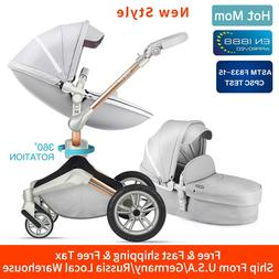 Hot Mom Baby Stroller 3 in 1 travel system with <font><b>bas