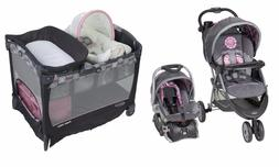 Baby Stroller Travel System with Car Seat Playard Removable
