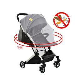 Baby Stroller Universal Mosquito Net Full Coverage Pink Mosq
