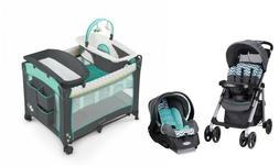 Baby Stroller with Car Seat Play-yard Infant Bassinet Travel
