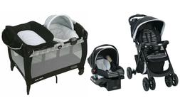 Graco Baby Stroller with Car seat Travel System Playard Surr