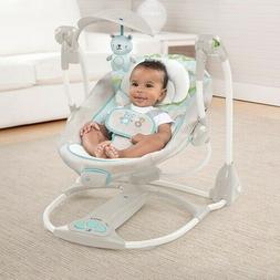 Baby Swing Bassinet Crib Sleeper Infant Child Recline Seat P
