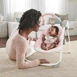 Baby Swing Bassinet Seat Portable Girl Chair Recliner Infant