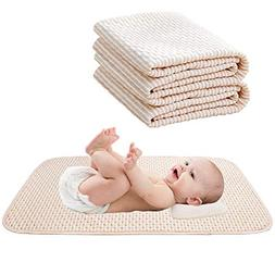 Komica Baby Waterproof Mattress Pad - Reusable Organic Cotto