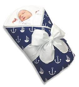 Bundlebee Baby Wrap/Swaddle/Blanket - Built-in Organic Infan