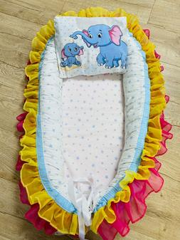 BabyNest,baby cocoon,positioner travel cot baby bassinet