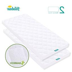 Bassinet Mattress Pad Cover Bamboo Fleece Surface For Mainst