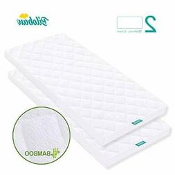 Bassinet Mattress Pad Cover, Waterproof, Fits for All Mainst