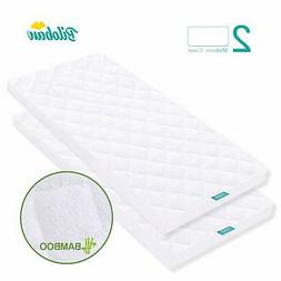 Bassinet Mattress Pad Cover, Waterproof, Fits for All